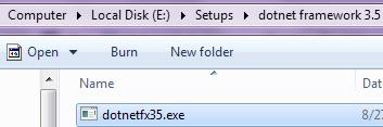 Folder view
